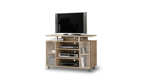 tv board sonoma eiche tv schrank rtv rack tv board in sonoma eiche auf rollen