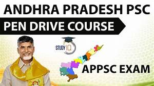 Andhra Pradesh PSC - APPSC exam pen drive course launched ...