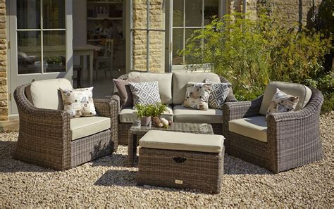 Garden Furniture by Hartman Semerang Birch Lounge Set With Weather Ready