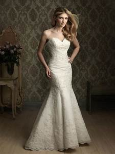lace mermaid wedding dress sweetheart neckline siji ipunya With sweetheart neckline wedding dresses