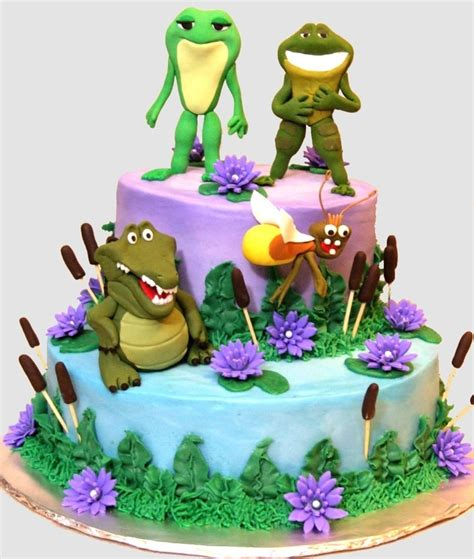 images  princess  frog cakes