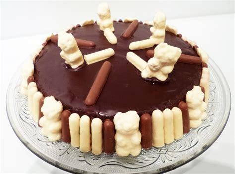 cuisine gateau gâteau d 39 anniversaire bisounours la recette facile par