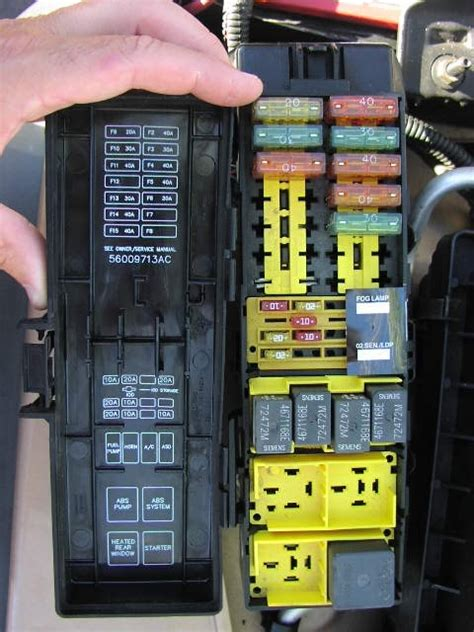 Jeep Jk Fuse Box by 2008 Jeep Wrangler Fuse Box Fuse Box And Wiring Diagram