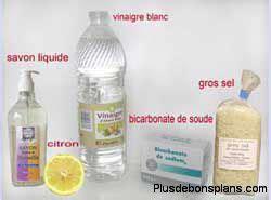 vinaigre blanc produit nettoyant efficace 233 colo et pas cher
