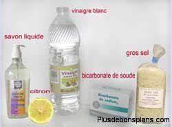 Déboucher Canalisation Bicarbonate : vinaigre blanc produit nettoyant efficace colo et pas cher ~ Dallasstarsshop.com Idées de Décoration