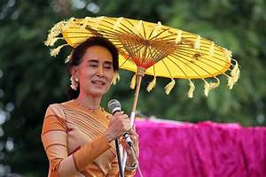 Myanmar's Suu Kyi 'Angry at Being Interviewed by Muslim'