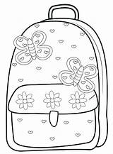 Coloring Pages Supplies Backpack Bag Egg Dinosaur Getcolorings Printable Illustration Getdrawings Colorings sketch template