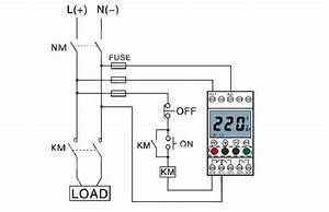 Voltage Monitoring Relay  Under  Over Voltage  1 Phase  110 Dc