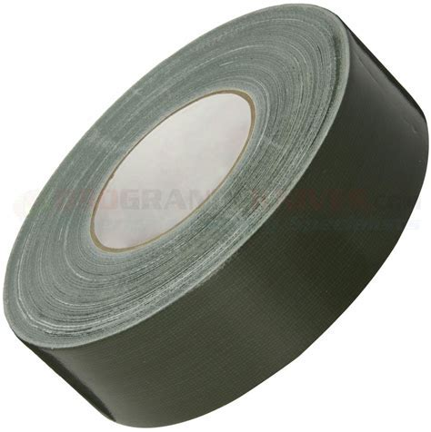 Duct Tape, Olive Drab, 2 in. x 180 ft. Roll   OsoGrandeKnives