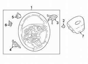 2019 Ford Ecosport Steering Wheel Transmission Shift