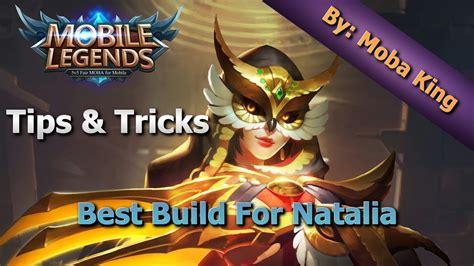 Mobile Legends Best Build For Natalia  Tips And Tricks