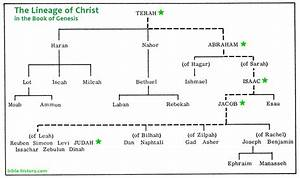The Lineage Of Christ In Genesis