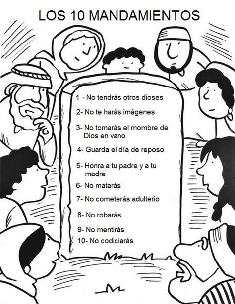 Los Diez Mandamientos Para Ninos