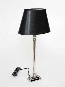 Lampenschirm Schwarz : tischlampe tischleuchte lampenschirm schwarz leguan ~ Pilothousefishingboats.com Haus und Dekorationen