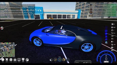 How to get the bugatti chiron in roblox: Roblox Vehicle Simulator New Car Update The Bugatti is ...