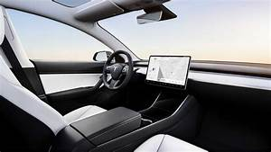 Tesla Model 3 Interior Color Just Black In Some Markets