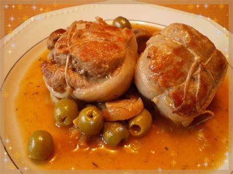 cuisiner des paupiettes de veau paupiettes de veau aux olives couscous et paella