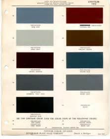 PPG Paint Color Chips