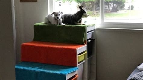 diy dog window perch  steps ikea hackers ikea hackers