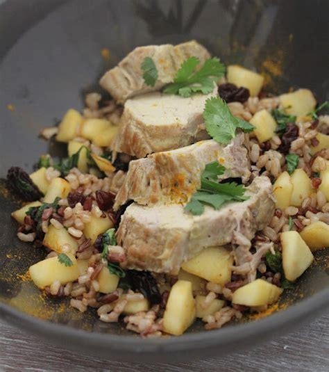 cuisiner du filet mignon de porc on dine chez nanou filet mignon de porc au curry riz