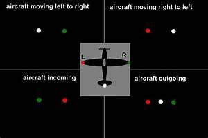 Diagram Of A Plane U0026 39 S Navigation Lights   Image Via