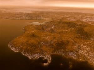 "Saturn Moon Has Tropical ""Great Salt Lake,"" Methane Marshes"