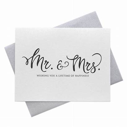 Wishes Card Lifetime Mrs Happiness Mr Wishing