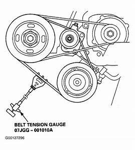 2001 Acura 3 5rl Serpentine Belt Routing And Timing Belt Diagrams