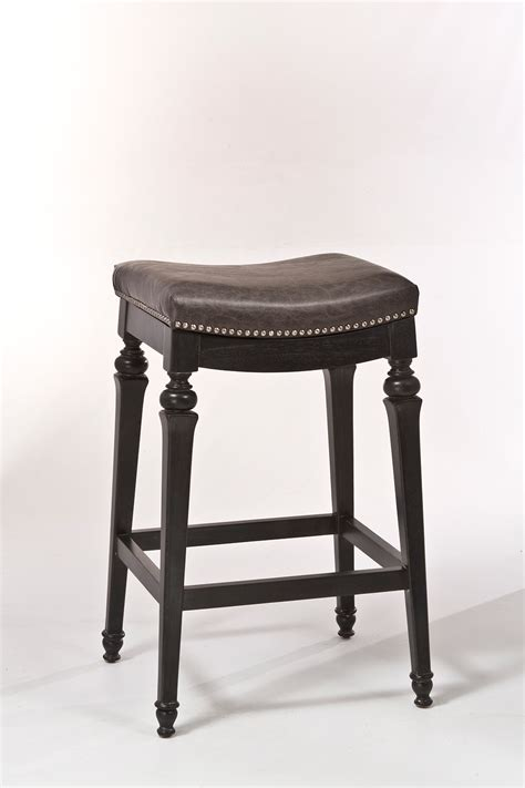 leather backless counter stools hillsdale vetrina backless non swivel counter stool 6884