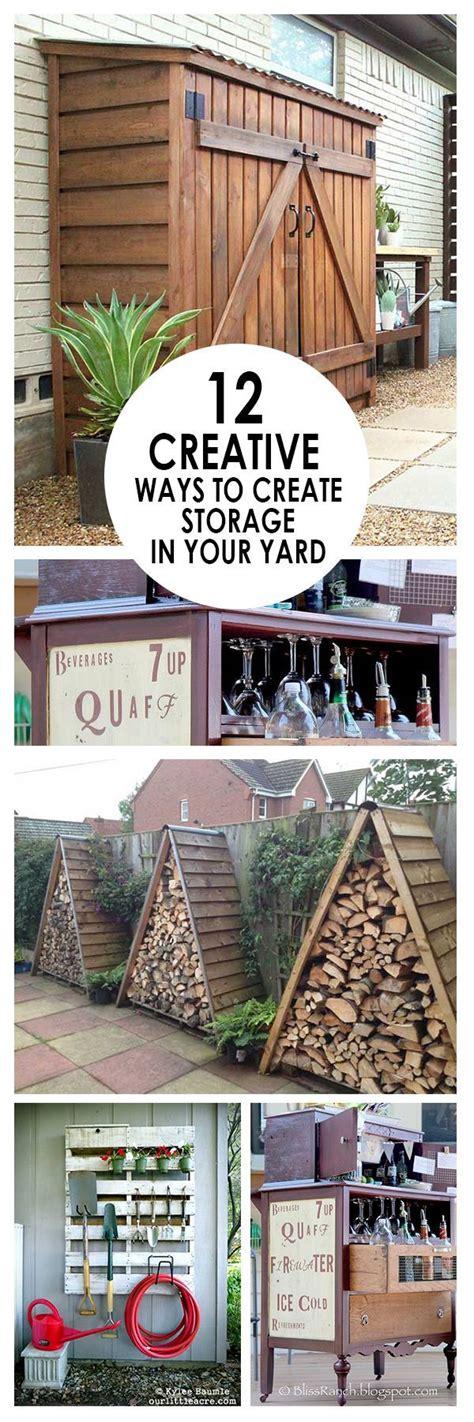 Backyard Storage Ideas by 17 Ideas About Backyard Storage On Patio