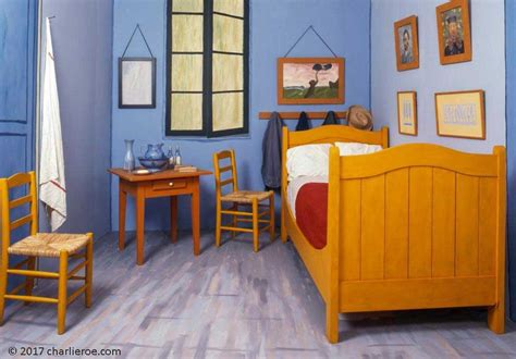 Gogh Bedroom Painting by Vincent Gogh S Bedroom At Arles Painted Furniture