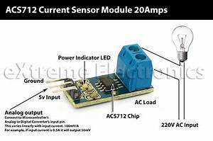 Buy Current Sensor Acs712 Module Online In India At Lowest