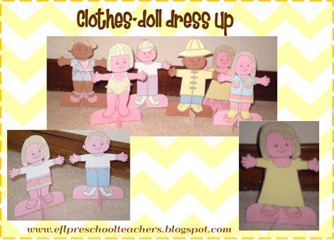 esl efl preschool teachers clothes theme for preschool ell 715 | blog doll dress up