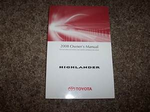 2008 Toyota Highlander Limited Sport 3 5l V6 Operator User