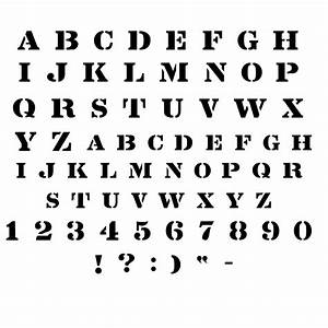 cool letter stencils stencil font alphabet diy ideas With font templates to print