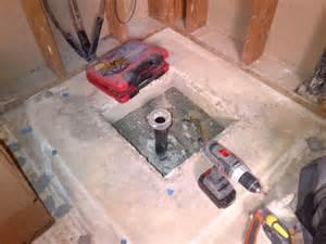 Concrete Shower Base
