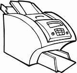Printer Coloring Pages Office Computer Canon Electronics Printable Drawing Electronic Hp Technology Test sketch template