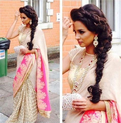 fabulous indian hairstyles saree indian wedding