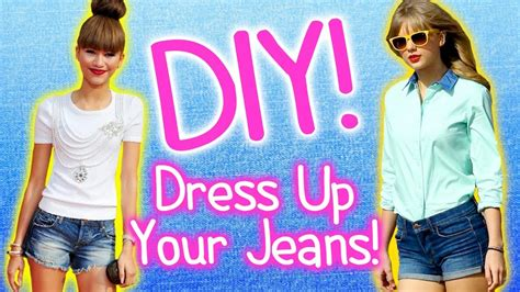 4 Ways To Dress Up Jeans! Ombre, Studs