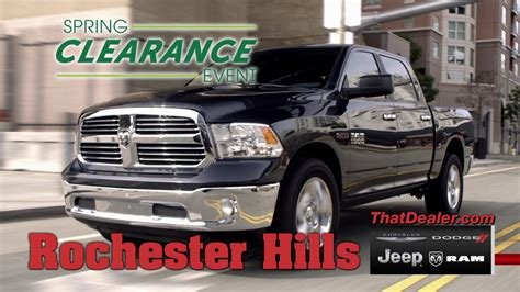Rochester Chrysler Jeep by Rochester Chrysler Dodge Jeep Ram Clearance