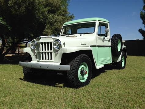 1962 willys jeep pickup 1962 willys pick up the jeep farm