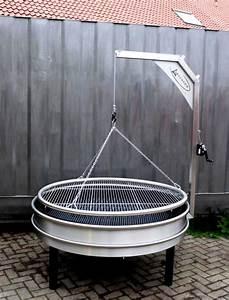 Barbecue Charbon De Bois Pas Cher : schwenkgrill et barbecue bois charbon en inox fabriquer ~ Dailycaller-alerts.com Idées de Décoration