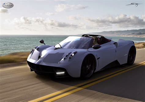 pagani huayra roadster slated  debut early