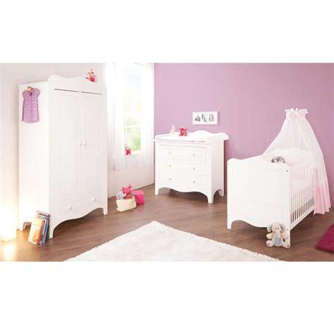 chambre bébé pinolino chambre bébé 3 pièces fleur blanc pinolino acheter sur