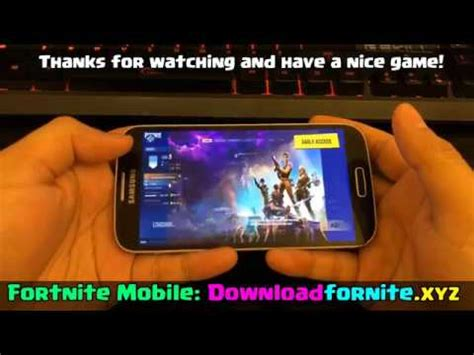 fortnite android  fornite mobile  apk