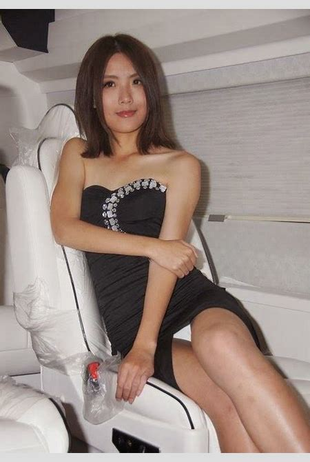 Upskirt On Auto Show | Asian Beauty