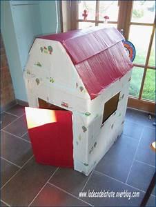 Fabriquer Une Mezzanine Soi Même : comment fabriquer soi meme une cabane en carton la d co ~ Premium-room.com Idées de Décoration