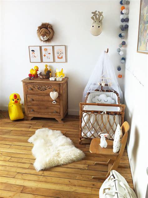 déco chambre bébé vintage chambre bébé bois mon bébé chéri