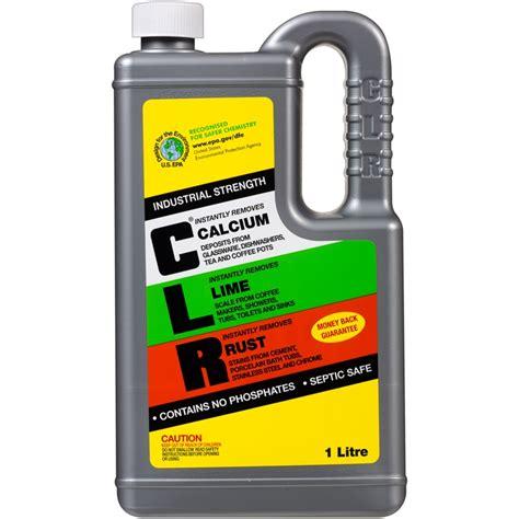Clr Bathroom Cleaner Australia by Clr 1l Calcium Lime Rust Remover Ebay