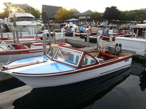 Thompson Wooden Boats For Sale by Used 1963 Thompson Sea Coaster For Sale Classic Wooden